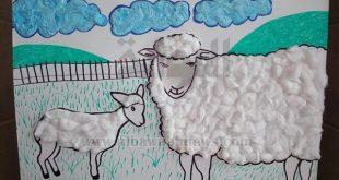 رسومات لعيد الاضحى , رسومات وكاريكاتير خروف العيد