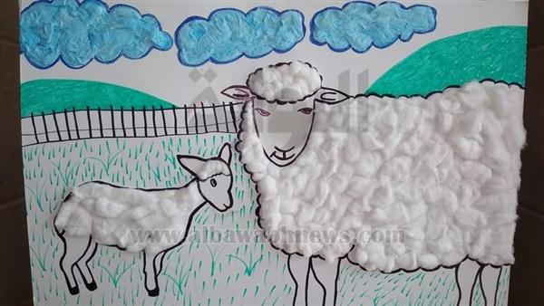 صورة رسومات لعيد الاضحى , رسومات وكاريكاتير خروف العيد