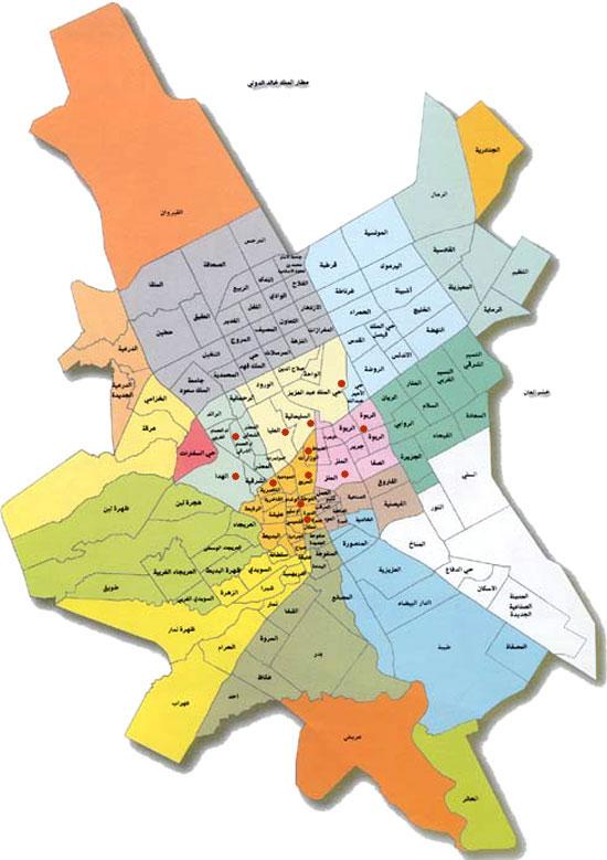 صورة خرائط مدينة الرياض , معلومات عن مدينة الرياض
