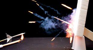 كيف تصنع صاروخ من الكبريت , ابداعات من اشياء صغيره