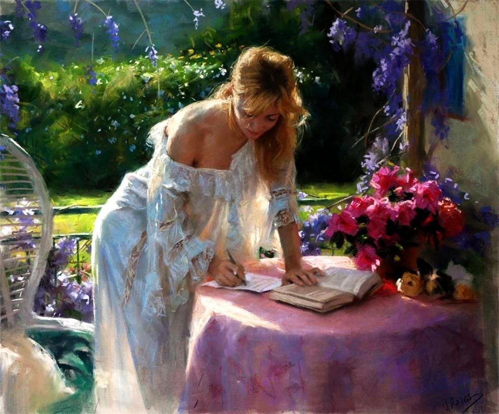 صورة لوحات فنية رائعة , ابداعات في الرسم روعه