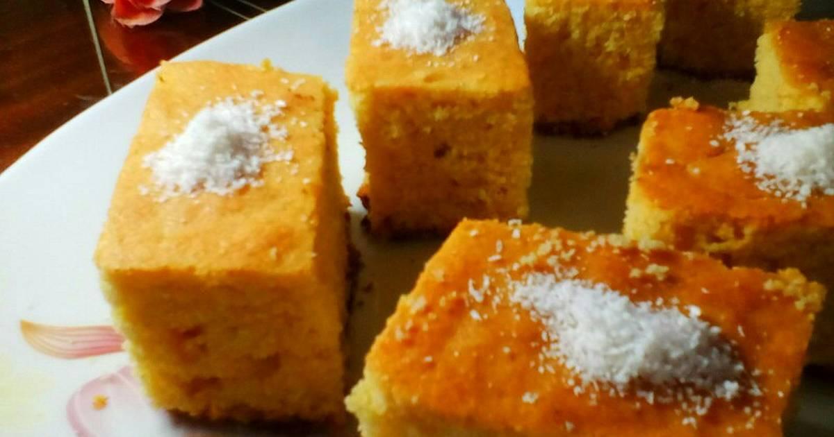 صورة طريقة عمل هريسة الذرة , حلويات شرقية روعه 2670 1