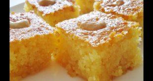 طريقة عمل هريسة الذرة , حلويات شرقية روعه