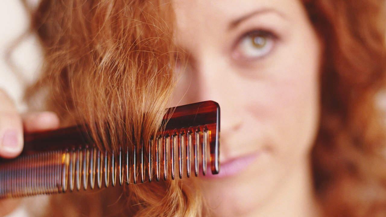 صورة وصفات لعلاج الشعر التالف , الشعر هو جمال اي مراة 2788