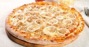 صور طريقة عمل بيتزا التونة , اسهل اكلة واشيك اكلة
