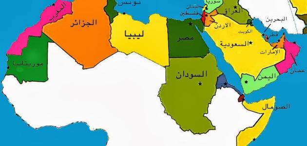 صورة كم دولة عربية , معلومات عن الدول العربيه
