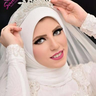 صورة لفات طرح عرائس , اجمل حجاب لكل العرائس
