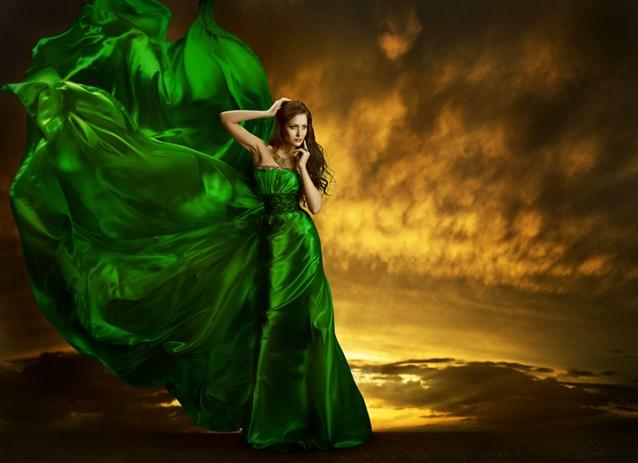 صورة تفسير حلم الفستان الاخضر , حلمت ان اختى لابسه فستان اخضر