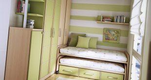 صورة ديكورات غرف نوم صغيرة , غرفة صغيرة و لكنها رائعة