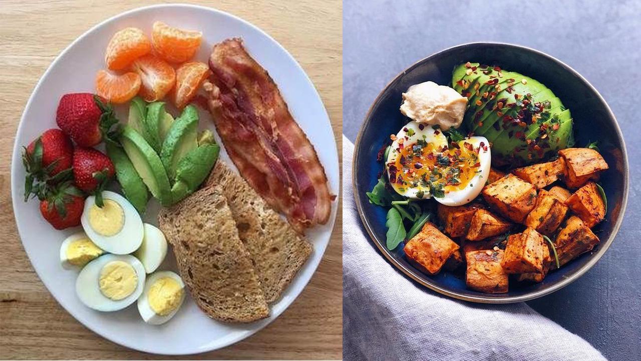 صورة افضل فطور صحي في الصباح , صباح العنا و بالف هنا