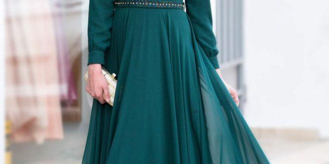 صورة فساتين سواريه رقيقة , اروع فستان سهرة