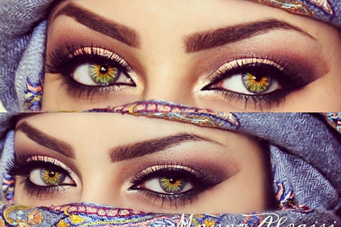 صورة صور عيون وحواجب , رسم الحواجب وتزيين مظهر العين