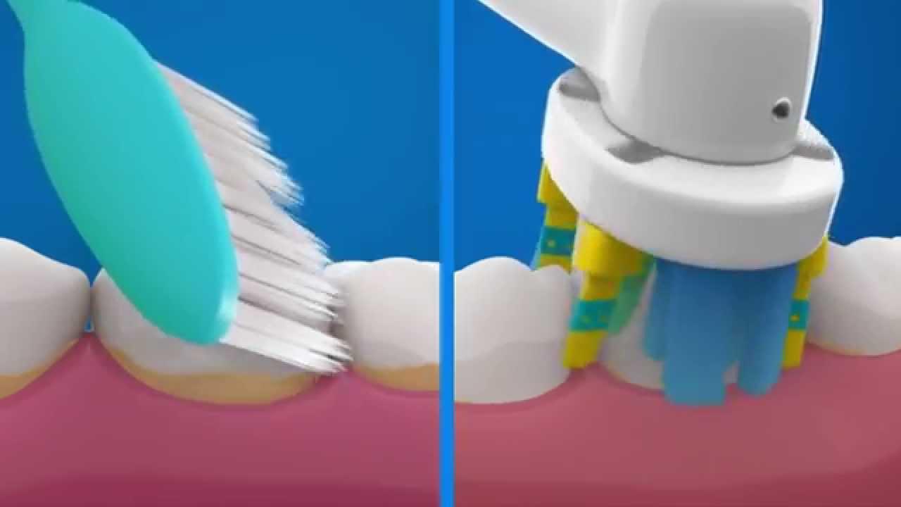 صورة افضل فرشاة اسنان كهربائية , فرشاة اسنان oral.b الكهربائية