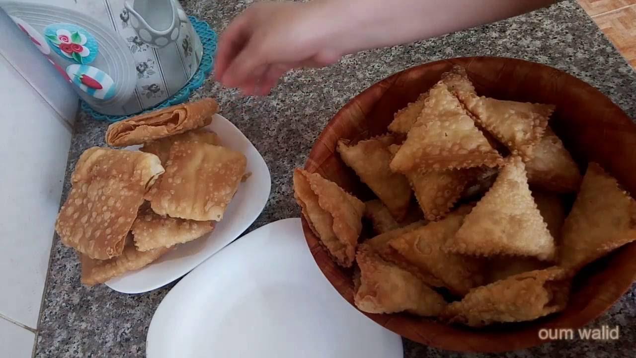 صورة الصامصة الجزائرية بالصور , سمبوسك على الطريقة الجزائرية