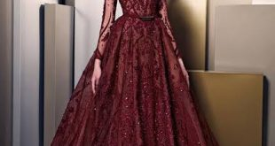 صورة فساتين اخر موديل , اطلالة ساحرة بهذة الفساتين