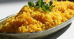 صورة كيفية عمل الارز البسمتى , ارز بسمتي بالكركم