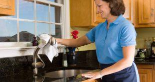 صورة تنظيف المطبخ الالوميتال من الدهون , ابسط الطرق للحفاظ علي شكل مطبخك