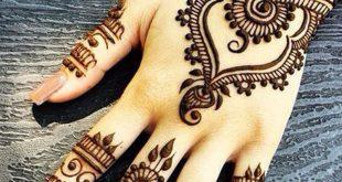 نقشات حنه هنديه , تزيين اليد للعروس