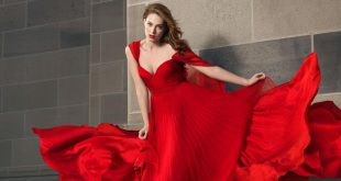 صورة تفسير فستان احمر , الاراء حول الفستان الاحمر