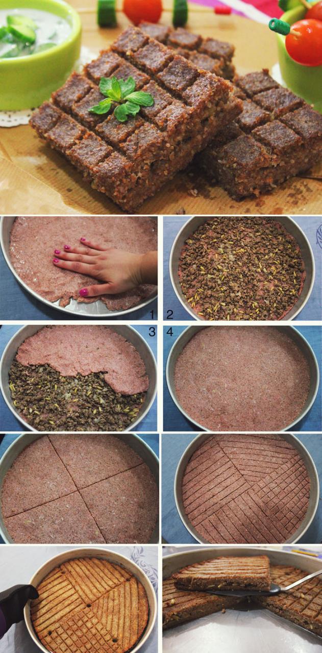 صورة طريقة عمل الكبة بالصينية , اكله سوريه شهيره 1592 2