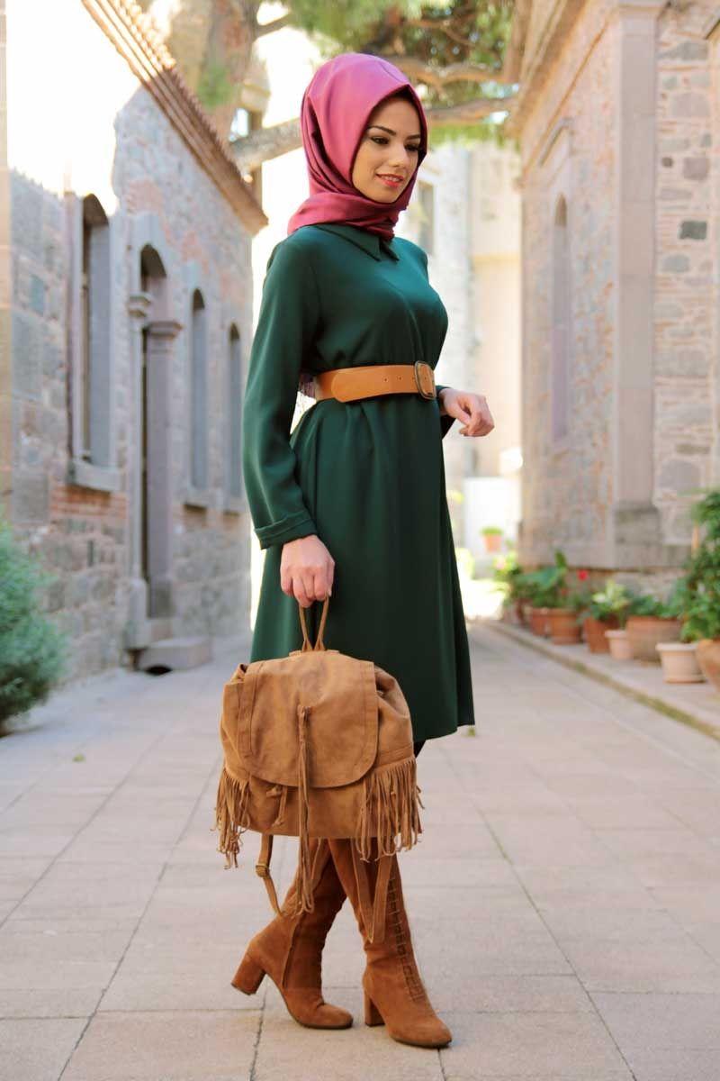 صورة لبس محجبات مصري , جمال الازياء المصريه للمحجبات