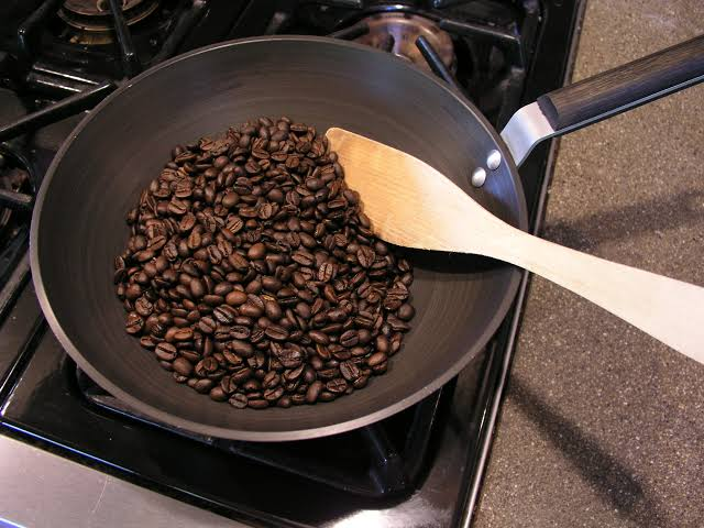 صورة طريقة تحميص البن , كيفية تحضير القهوه من البدايه