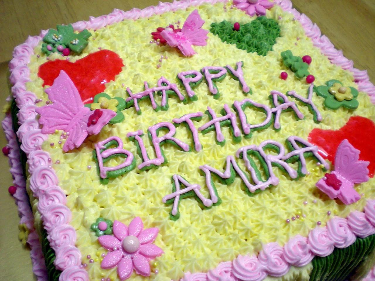 صورة تورته عيد ميلاد مكتوب عليها اسم احمد , اجمل تورته لعيد ميلاد احمد