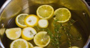 صورة فوائد الليمون المغلي , طرق الحفاظ علي بشرة صحية