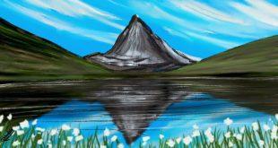 صورة رسم مناظر طبيعية , صور من الطبيعة