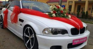 صورة صور سيارات عرس , اطلالة زفاف مختلفة