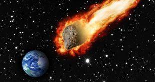 صورة ما هو النيزك , جسيمات تقوم بضرب الكرة الارضية