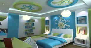 صورة ديكورات جبس غرف نوم اطفال , ابهار الجبس بورد في اوض الاطفال