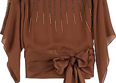 صورة بلوزات محجبات شيك , اجمل ملابس المحجبات
