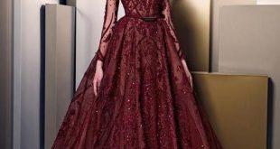 صورة اخر موضة الفساتين , اناقه وشياكه مع الفستان