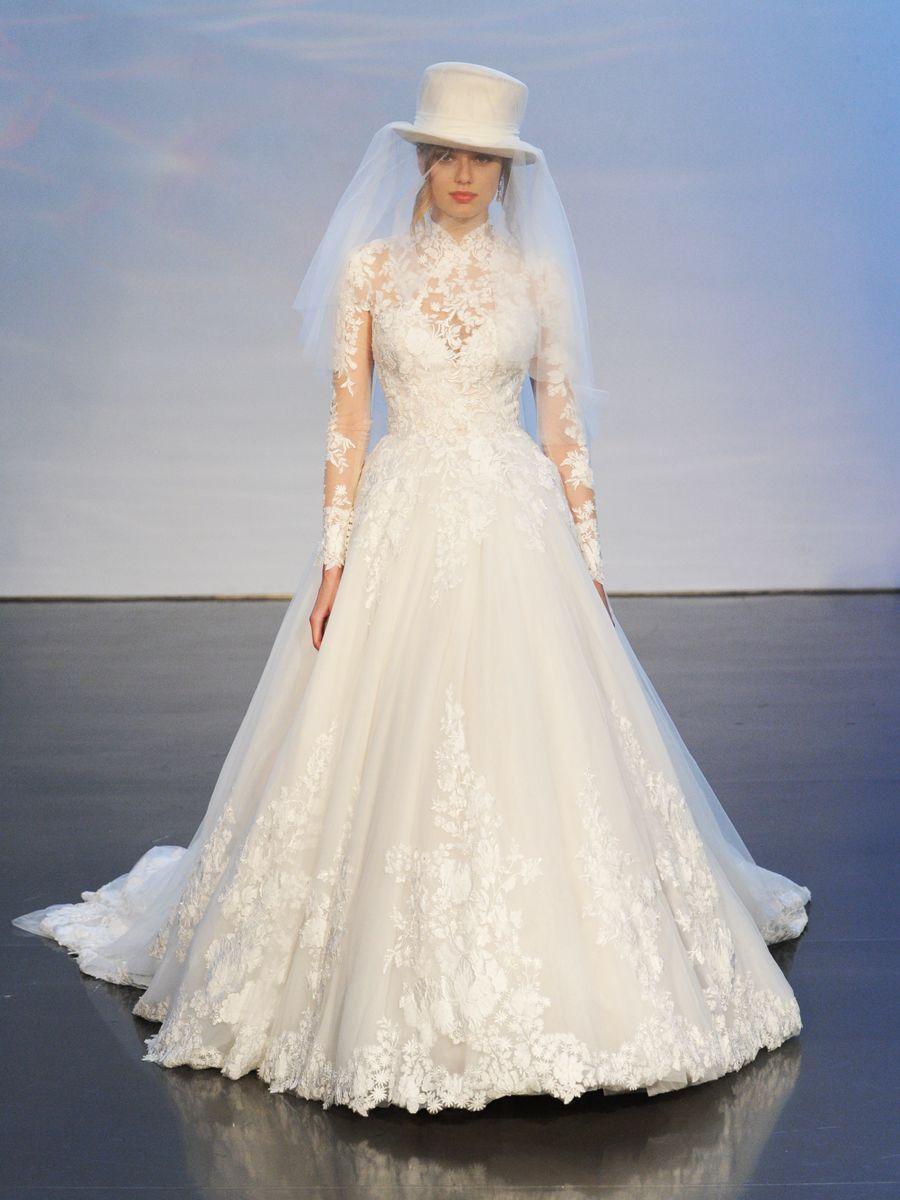 صورة فساتين افراح جديده , اختاري اجمل فستان ليله العمر