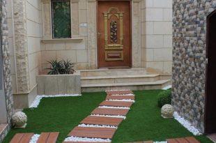 صورة تصميم حديقة المنزل , ازاى نقسم جنينه البيت