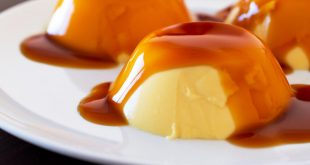 صورة طريقة عمل كريم الكراميل , حلوى بارده ولذيذه