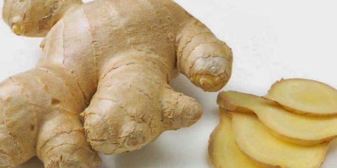 صورة فوائد الزنجبيل الاخضر للتنحيف , الزنجبيل الطازج يعمل على شد الجسم