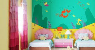 صورة احدث الوان غرف النوم للاطفال , جددي غرفة طفلك بالوان رائعه
