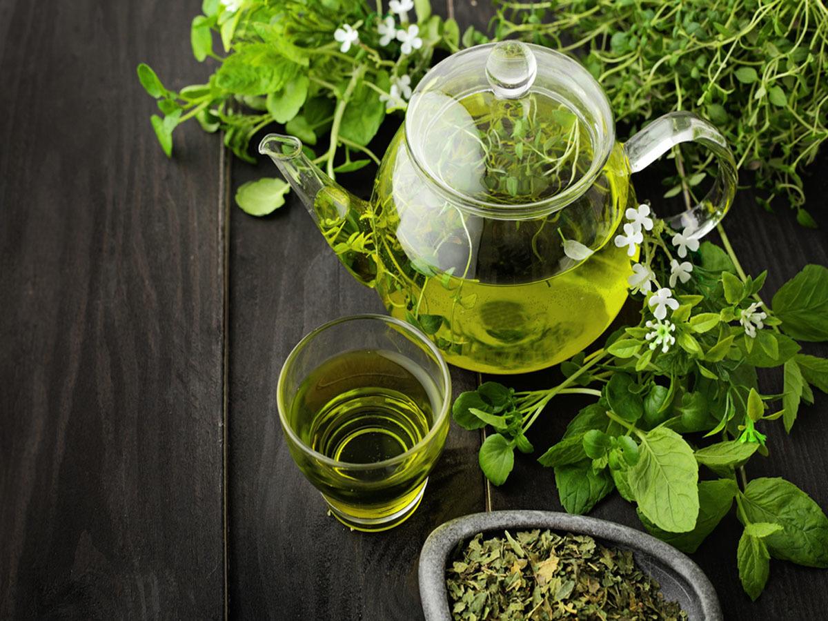 صورة الشاي الاخضر للشعر , احصلي على شعر لامع وجذاب مع الشاي الاخضر