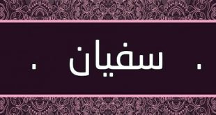 صورة ما معنى اسم سفيان , اسم ذات طابع اسلامي