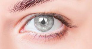 صورة لون عيون رمادي , لينسز ولا ليزر