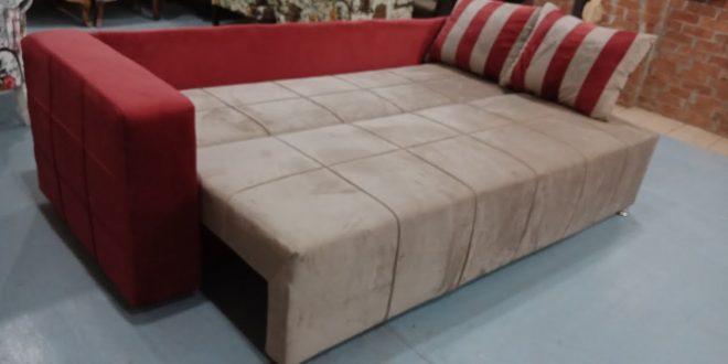 صورة كنب سرير من مفكو حلوان , فكرة رائعة للمنازل الضيقة