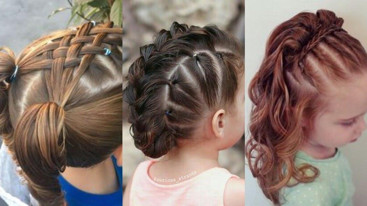 صورة تسريحات اطفال شعر قصير , اجمل تسريحة لشعر طفلتك