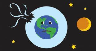 صورة ما هو ثقب الاوزون ,ماذا حدث للغلاف الجوى