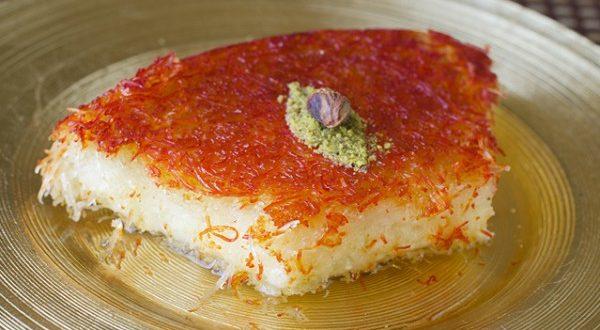 صورة كنافة سعودية بالجبن , خطيييرة ولا أروع