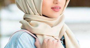 صورة لفات حجاب جديدة 2020 , تأنقي مع احدث لفات الطرح للعام الجديد