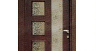 صورة ابواب غرف خشب مودرن ,بابك عنوانك