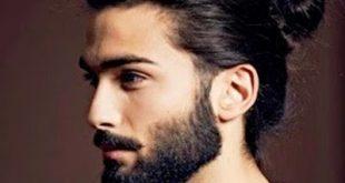 صورة الموضة العصرية للشباب , تسريحة الشعر الطويل للرجال