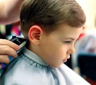 صورة قصات روشة لأحلى ولاد , قص شعر الاطفال